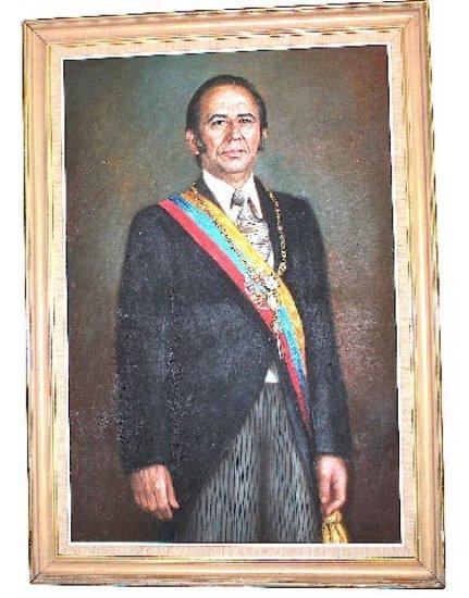 Carols Andres Perez Portrait from 1st Presidency