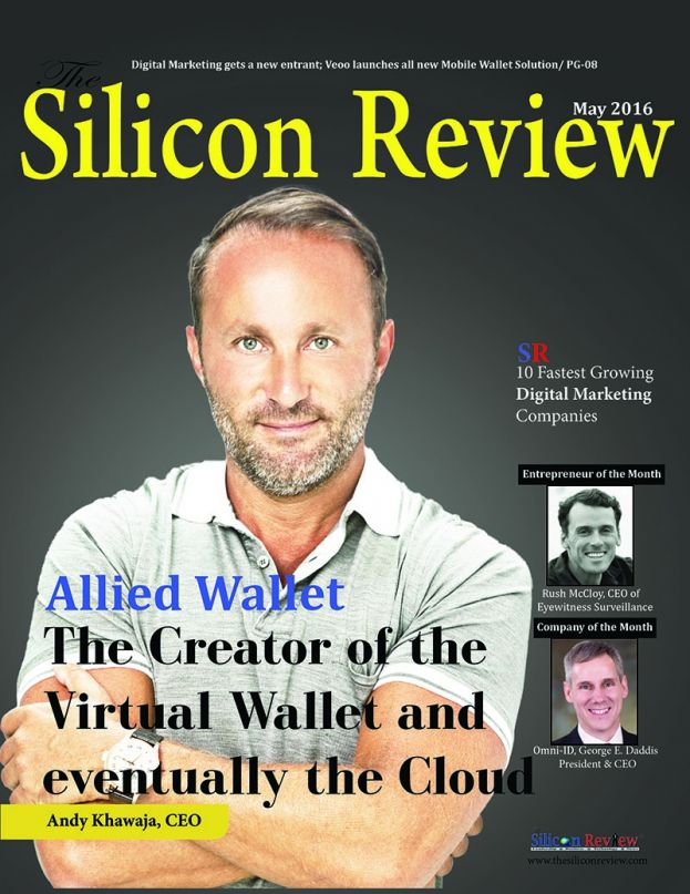 Allied Wallet CEO Andy Khawaja Featured On Cover of Silicon