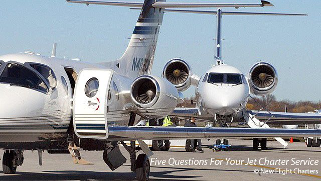 New Flight Charters Updates Industry Guide QuotFive Questions For Your Jet