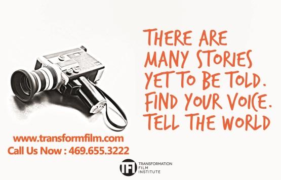 Transform Film tell the world