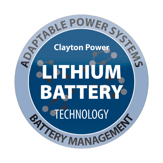Lithium Batteries by Clayton Power