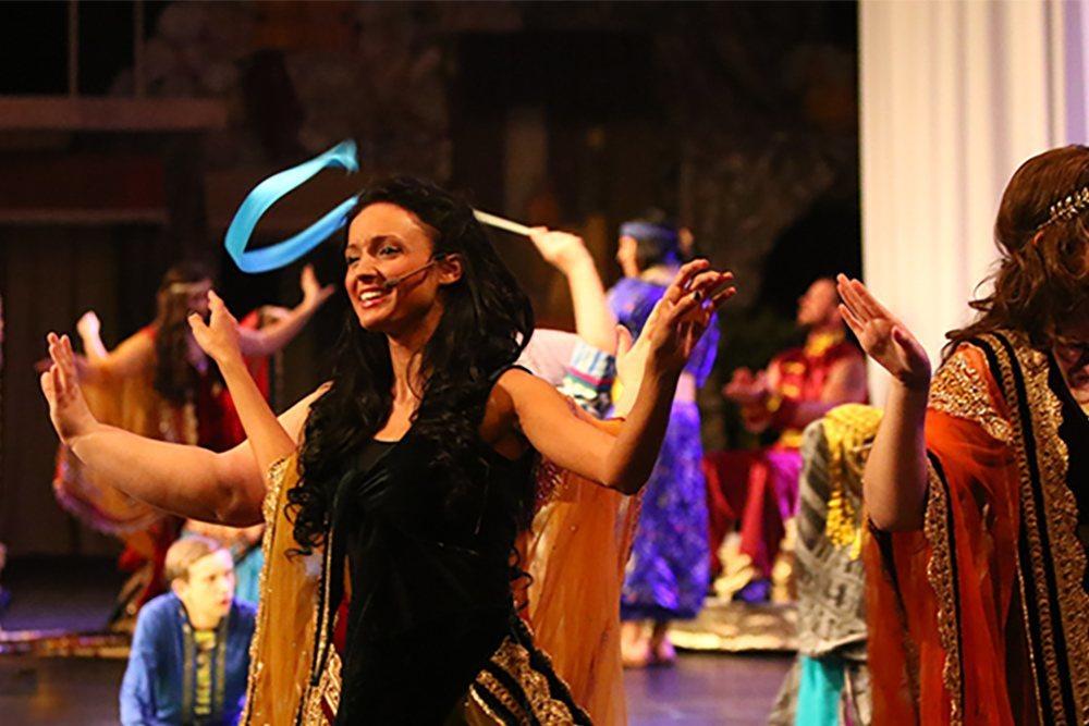 """Singkil Dancers in """"Samson: the Last Judge"""""""