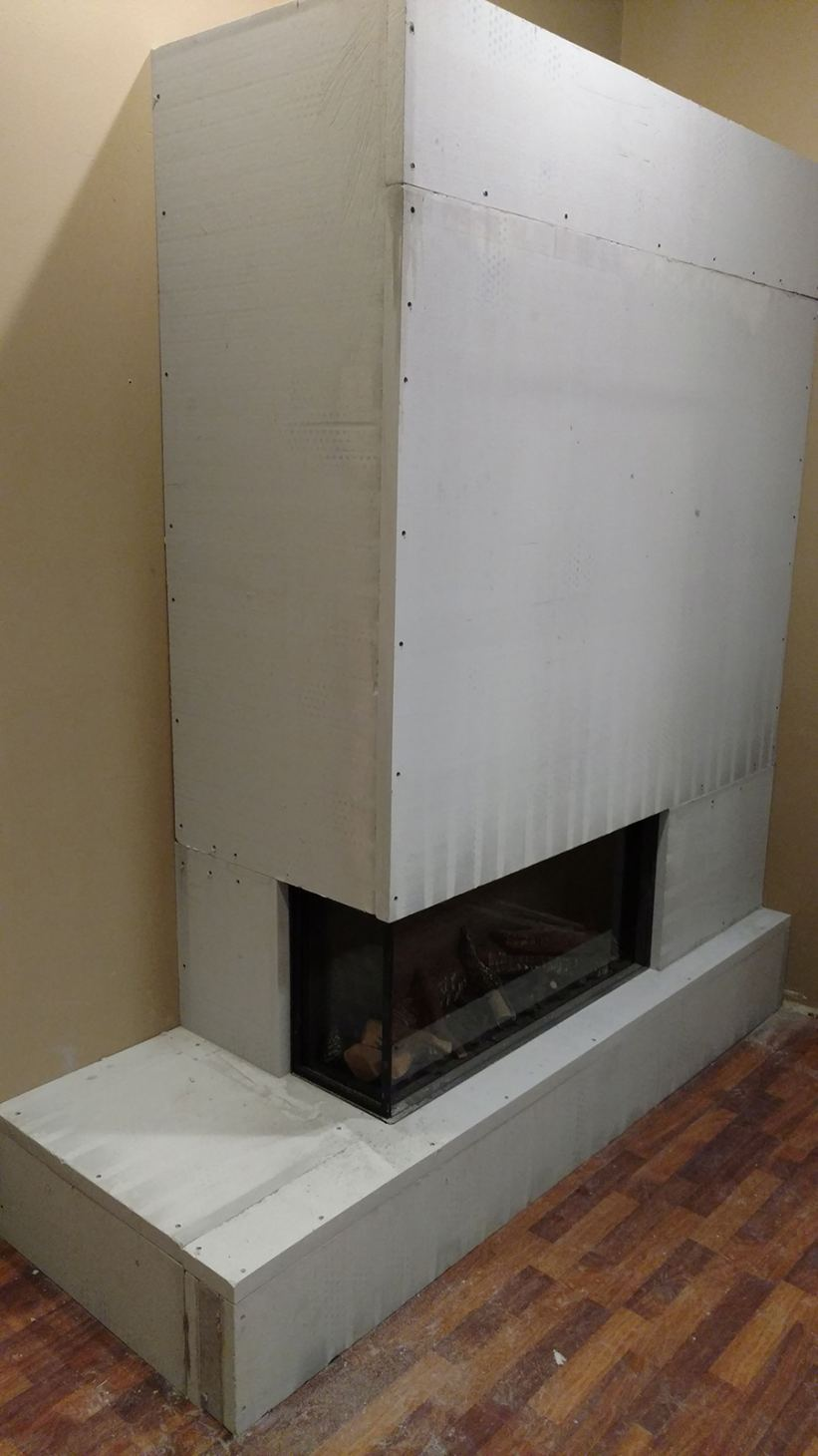 Skamotec 225 Fireplace Installation