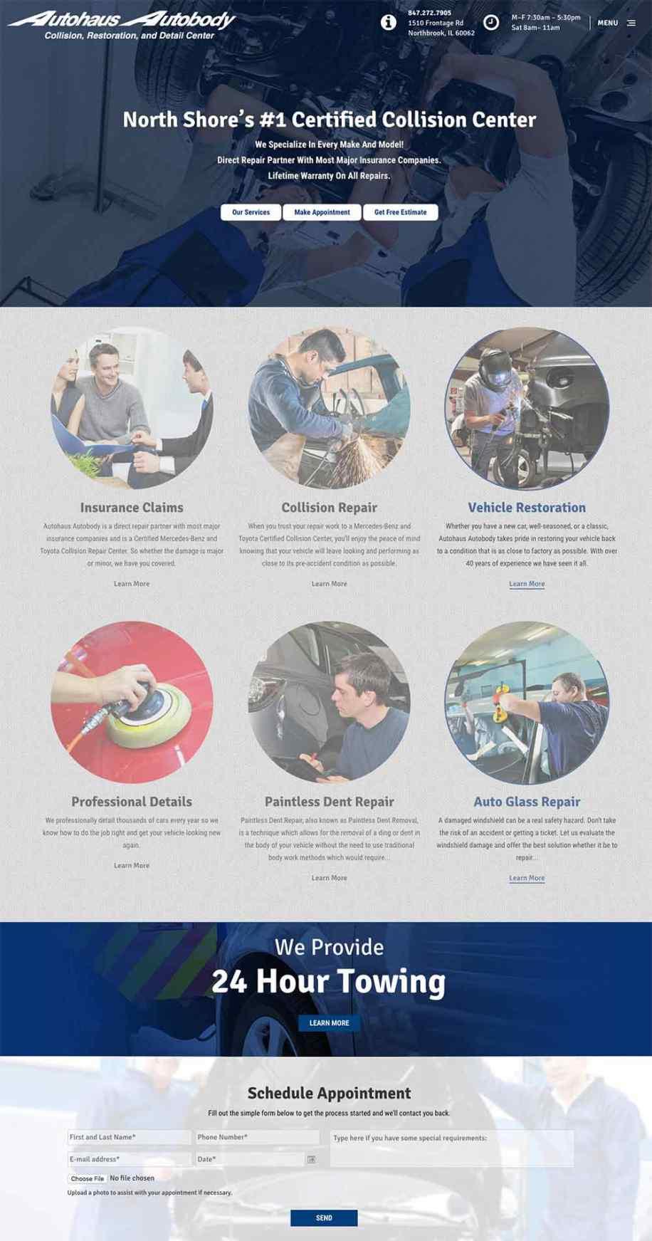 Autohaus Autobody Homepage