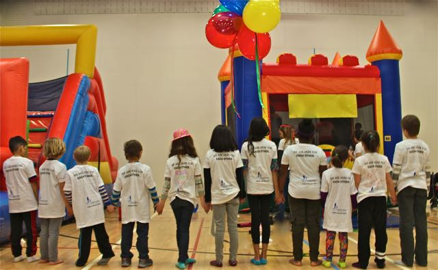 We Are Here for Each Other - Kids from A Caring Hand community on Family Fun Day