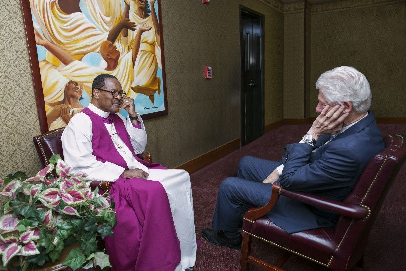 Clinton (MO) United States  city photos : Former President Bill Clinton Praises West Angeles COGIC Redevelopment ...