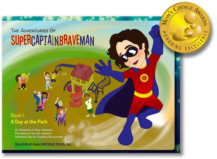 The Adventures of SuperCaptainBraveMan Book 1: A Day at the Park Wins Gold Award