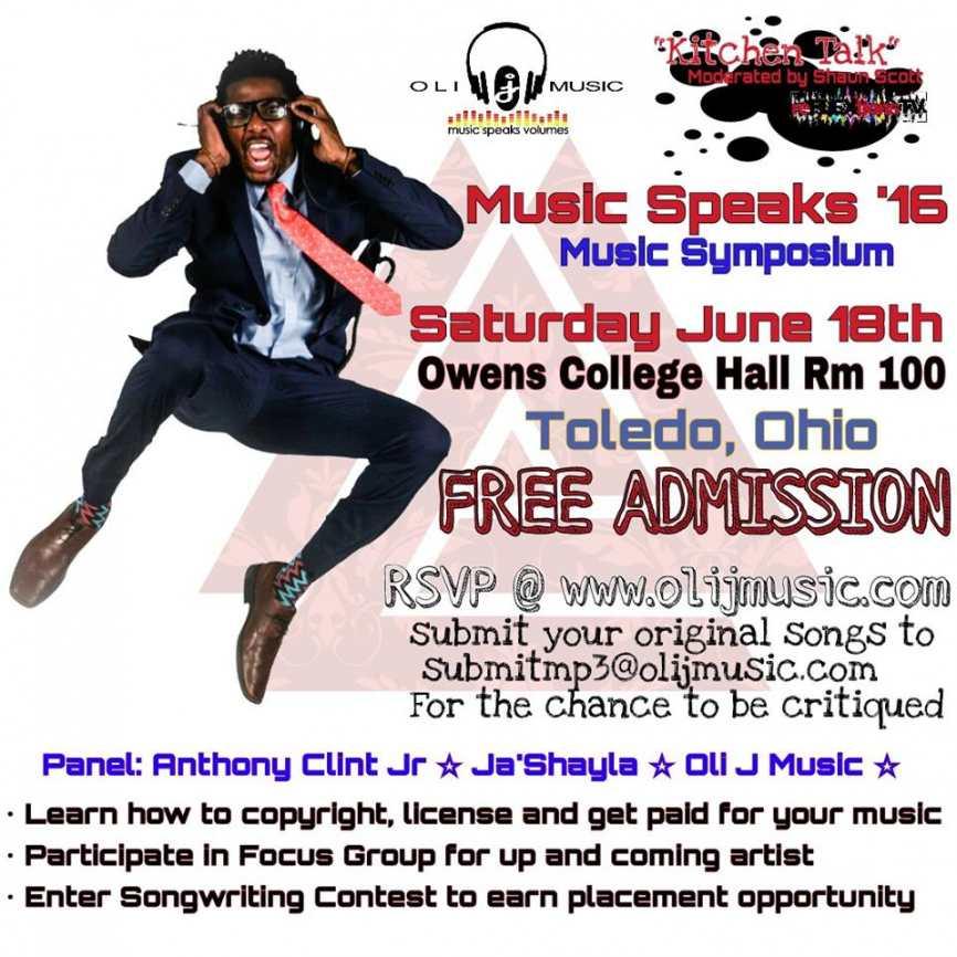 Music Speaks '16: Music Symposium