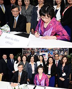 USPAACC and HKTDC Sign MOU