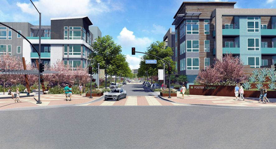 Foster Square will bring a much needed age-qualified new home to Foster City.