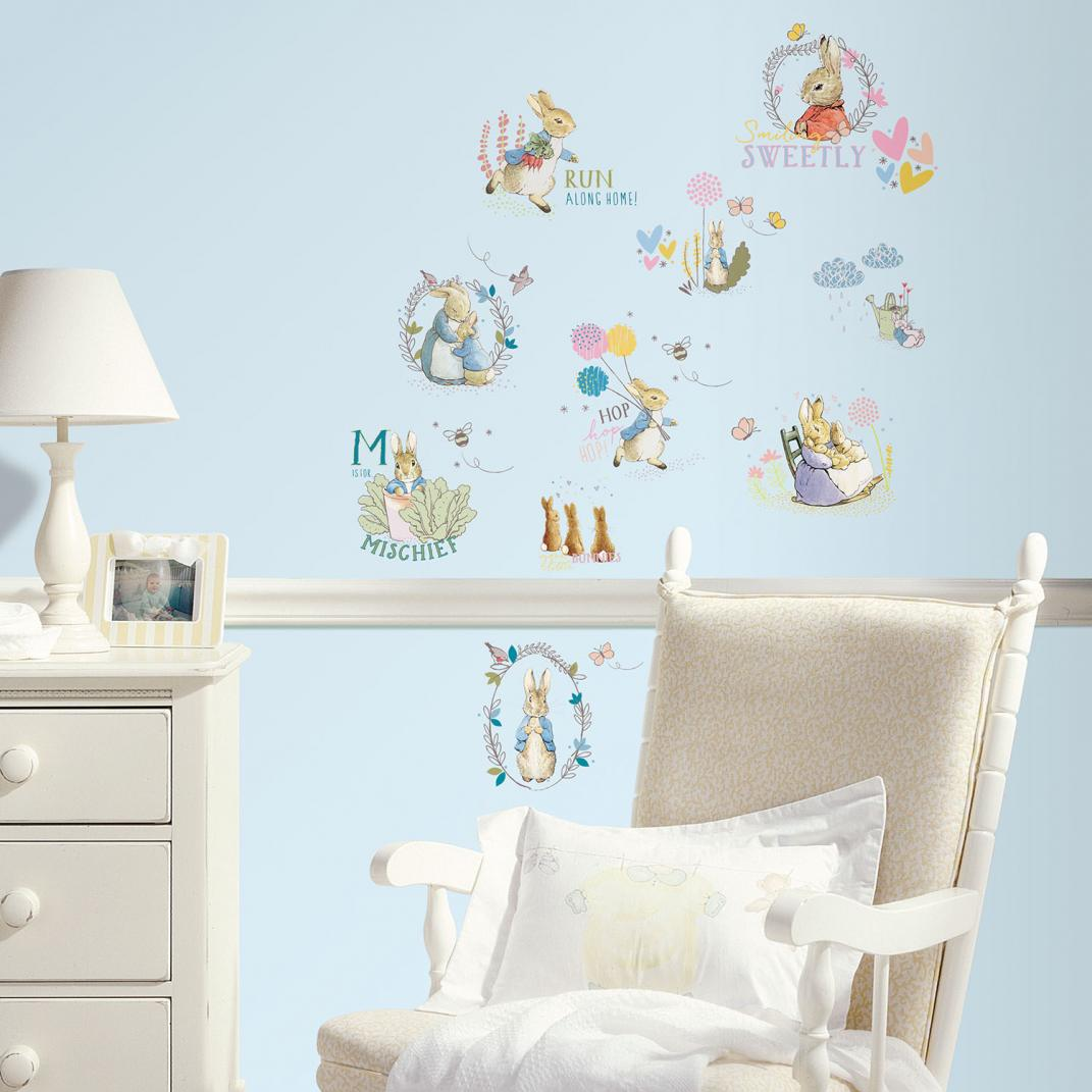 Best Of Type 6 Peter Rabbit Mural BeBeGi