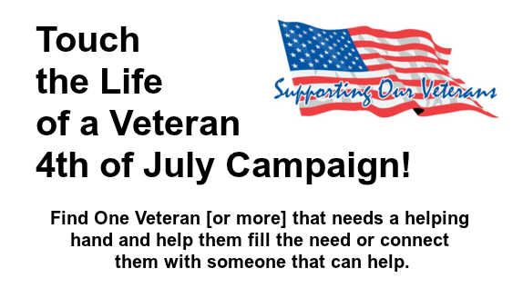 Touch a Vets Life Campaign