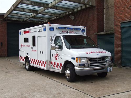 HAA private ambulance vehicle