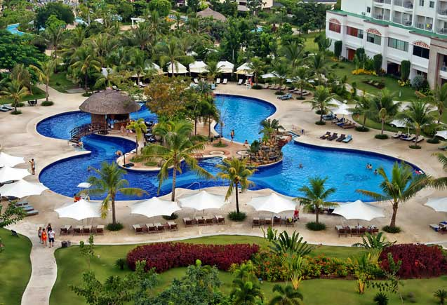 Get up to 30 percent room discount with jpark island resort 39 s dynamic deal directwithhotels for Cheap hotels in cebu with swimming pool