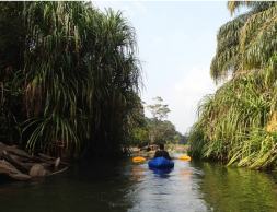 Packrafting in western Africa on a Secret Compass world-first expedition