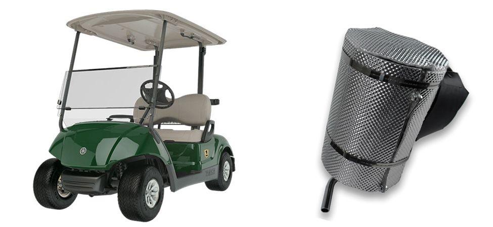 DEI Muffler Heat Shield for Yamaha® Golf Carts