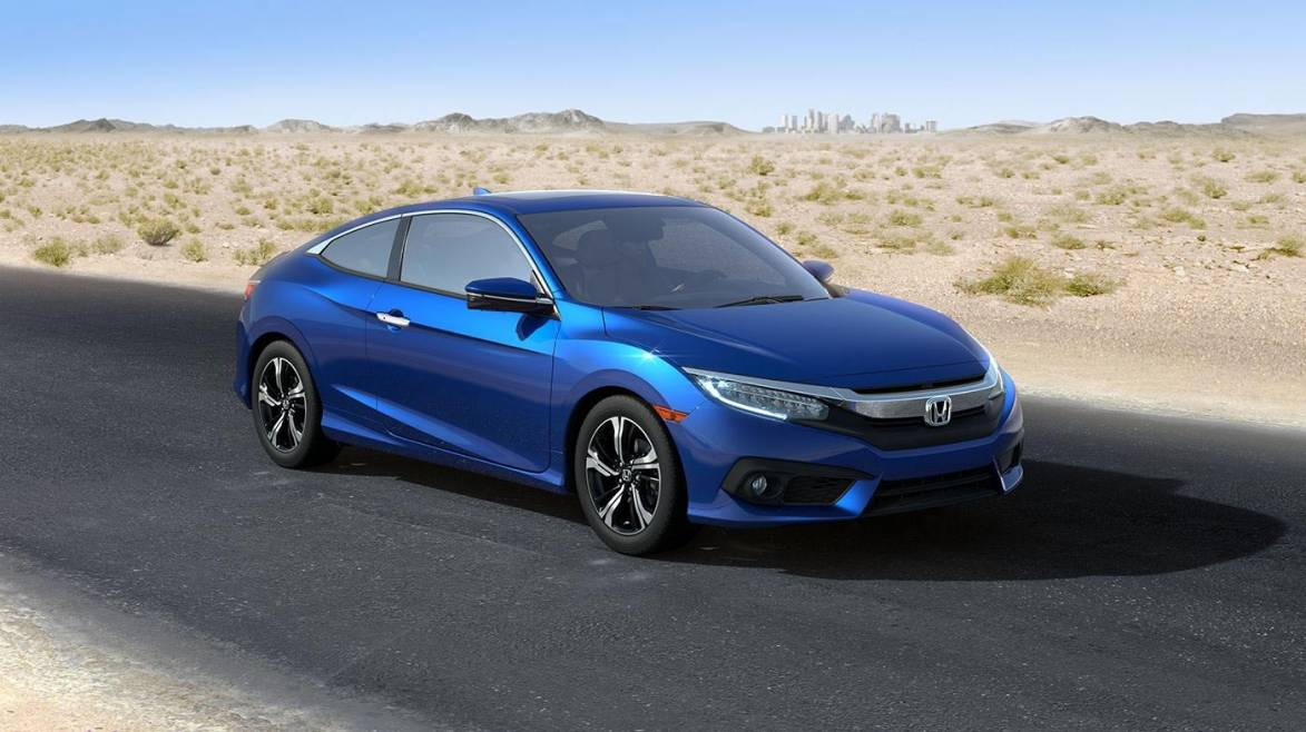 The 2016 honda civic coupe has been honored with top for Honda civic safety
