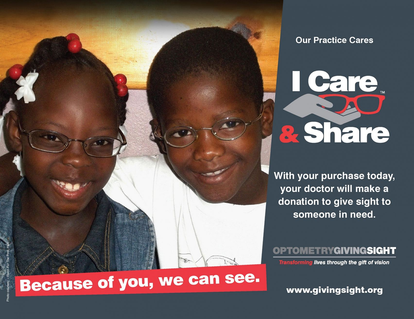 Linden Optometry, P.C. Giving the Gift of Sight Around the World