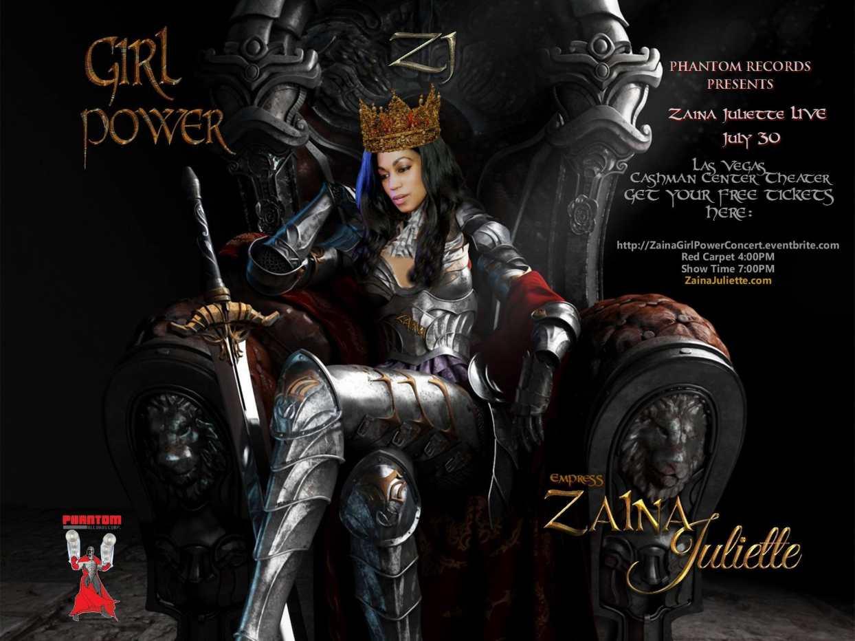 Girl Power Concert with Zaina Juliette