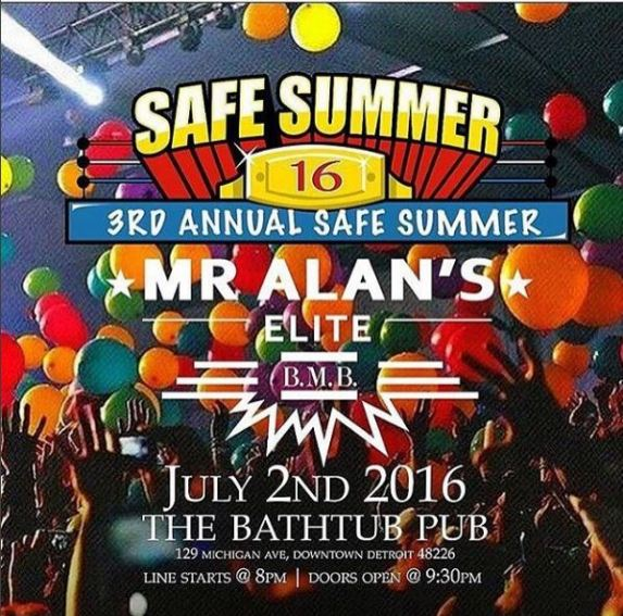 Safe Summer 16 Flyer