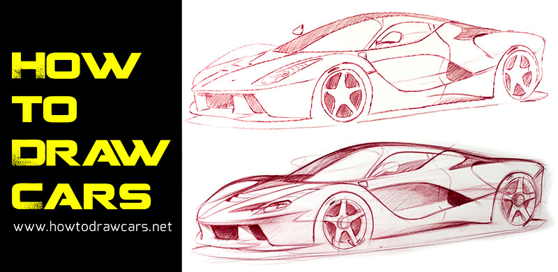 Drawing Line Quality : How to draw cars launches video for aspiring