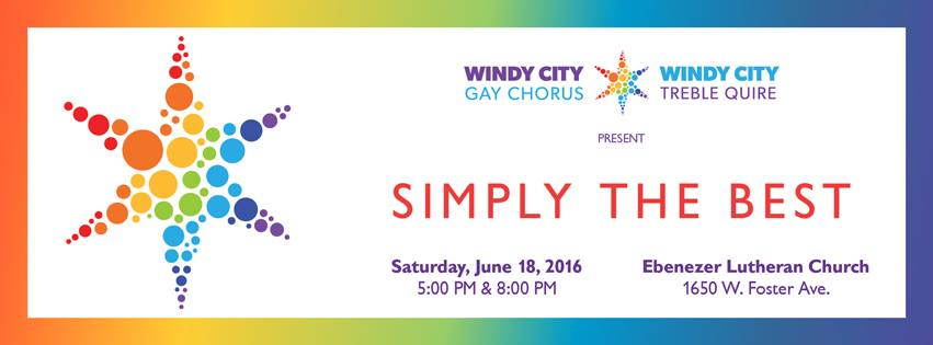 Windy City Gay Chorus & Windy City Treble Quire Pride Concert