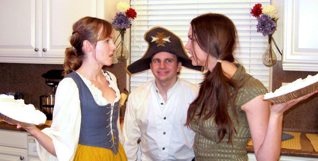 Katherine Browning, Derek Houck, and Kimberly Leemans
