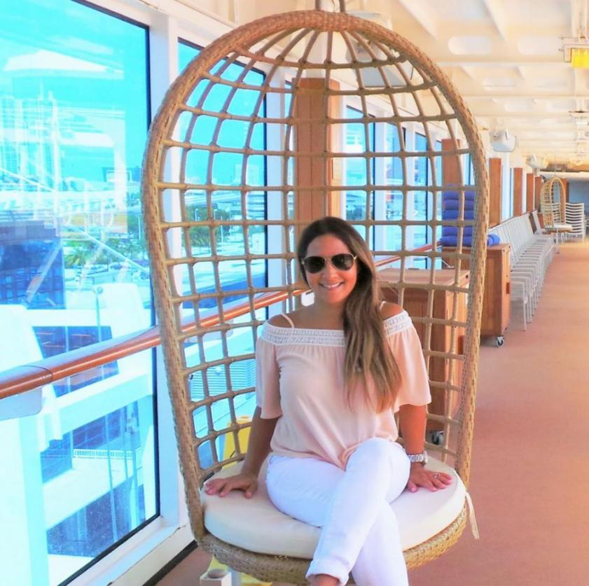 Lucie onboard fathom