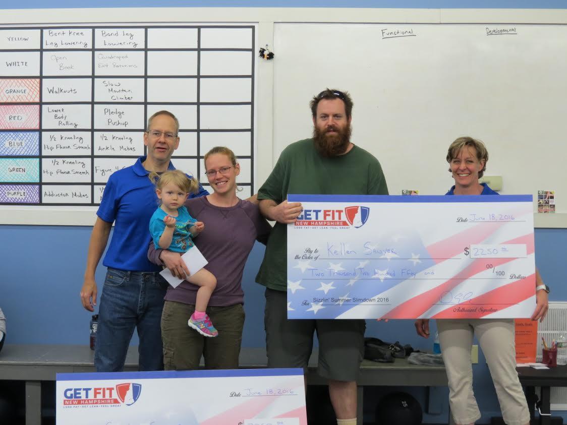 Congrats to Kellen and Carolyn Sawyer!