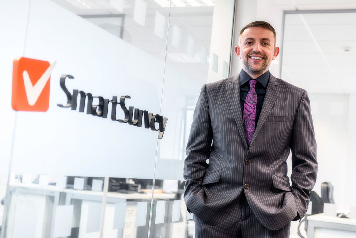 SmartSurvey Director, Mo Naser