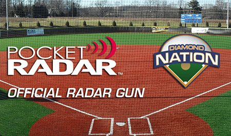 "Pocket Radar Named ""Official Radar Gun"" of Diamond Nation"