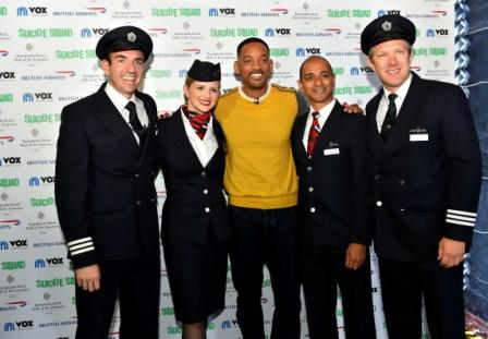 Image 1 - Will Smith Poses with British Airways Pi