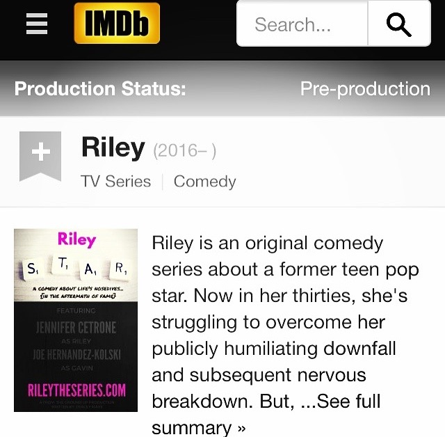 Riley The Series IMDb Image