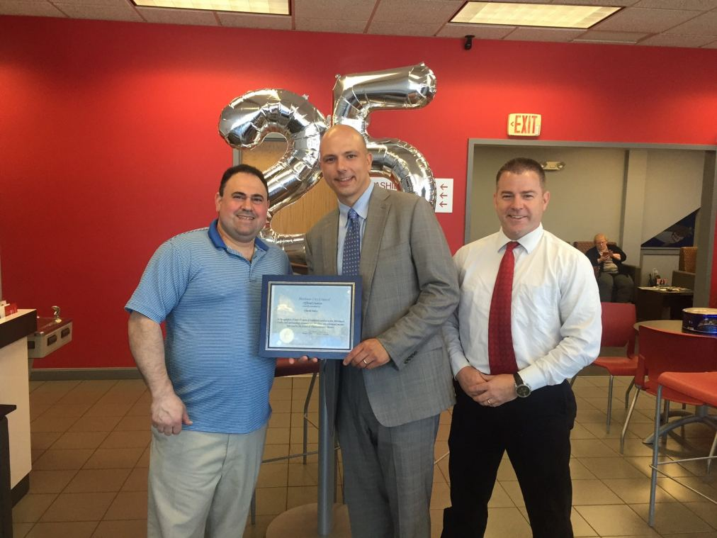 Commonwealth motors certificate of appreciation award for Commonwealth motors lawrence mass