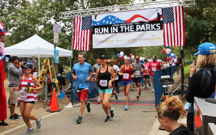 Run in the Parks on 4th of July