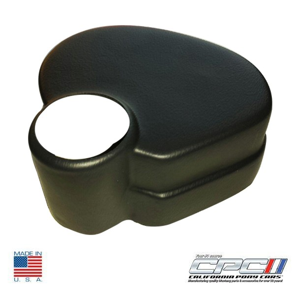 Brake Reservoir Covers : Mustang brake booster reservoir tank cover black