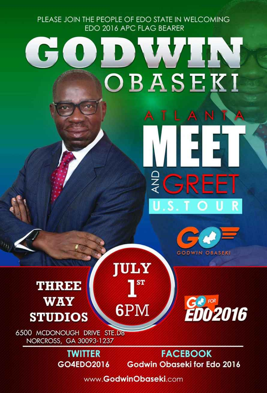 The people of edo hosts a private town hallmeet and greet in politcal flyer 6 27 2016 m4hsunfo