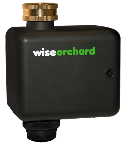 Wise Orchard's smart water valve