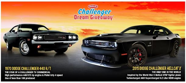 challenger dream giveaway real