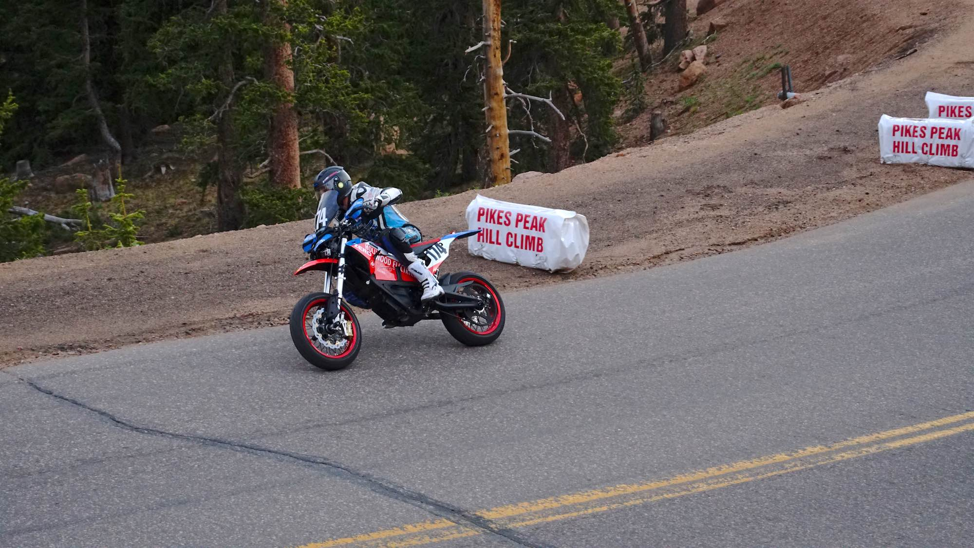 Team Hollywood Electrics Racer Marcel Irnie at PPIHC's Glen Cove