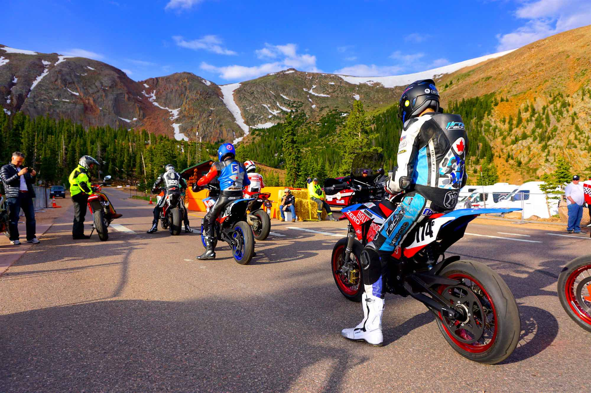 Team Hollywood Electrics Racers Train at Pikes Peak Middle Section