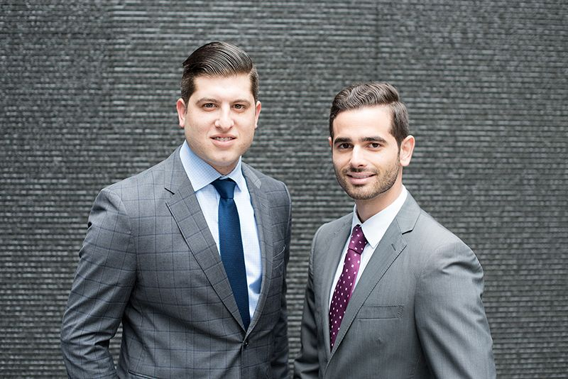 David Pressberg (L) and Jordan Rubinstein (R)