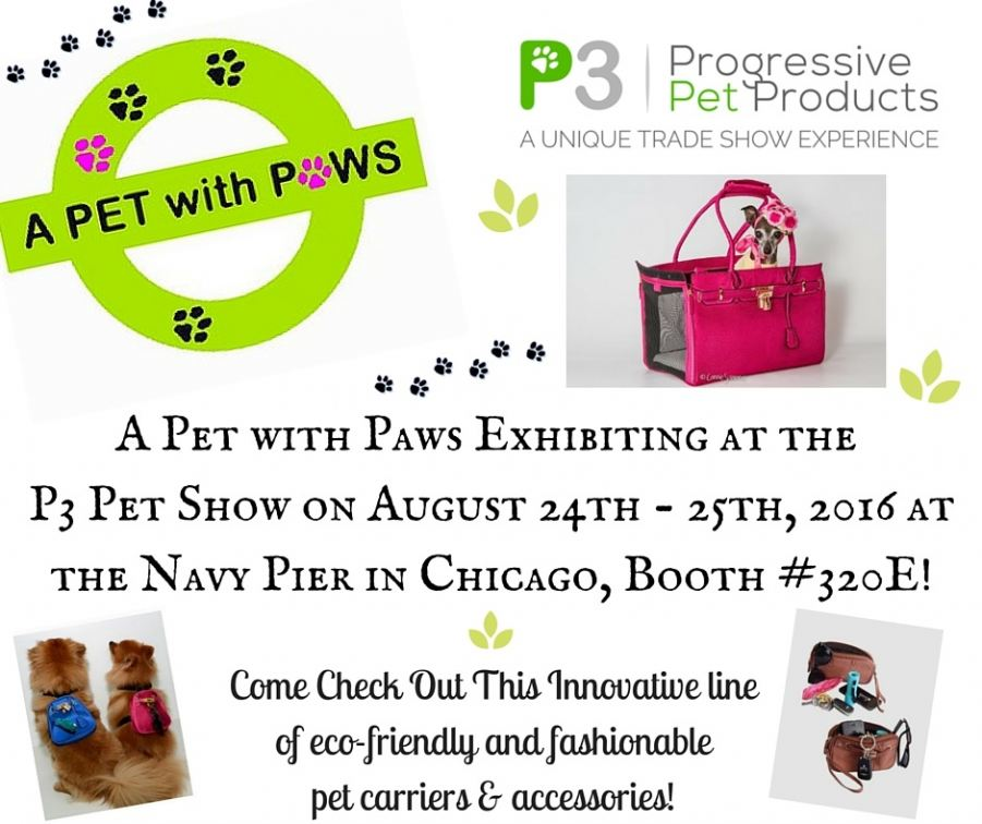 A Pet with Paws is gearing up for the P3 Pet Show