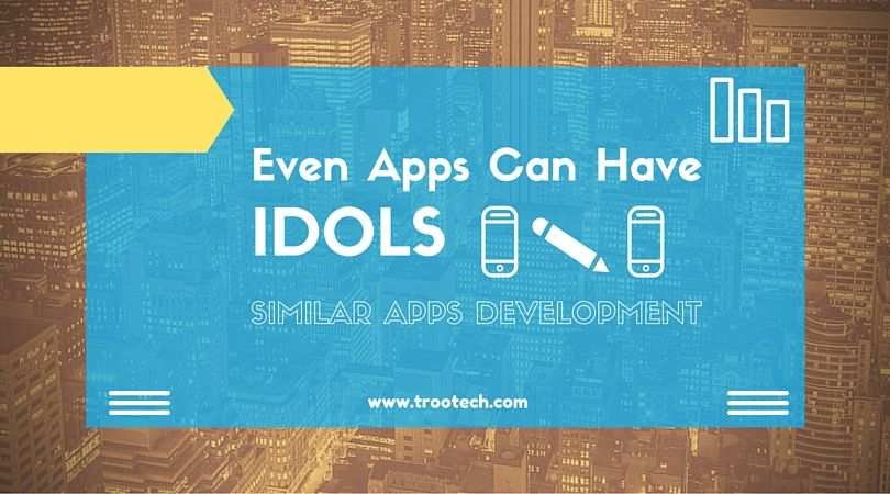 Similar Apps Development with TRooTech Business Solutions