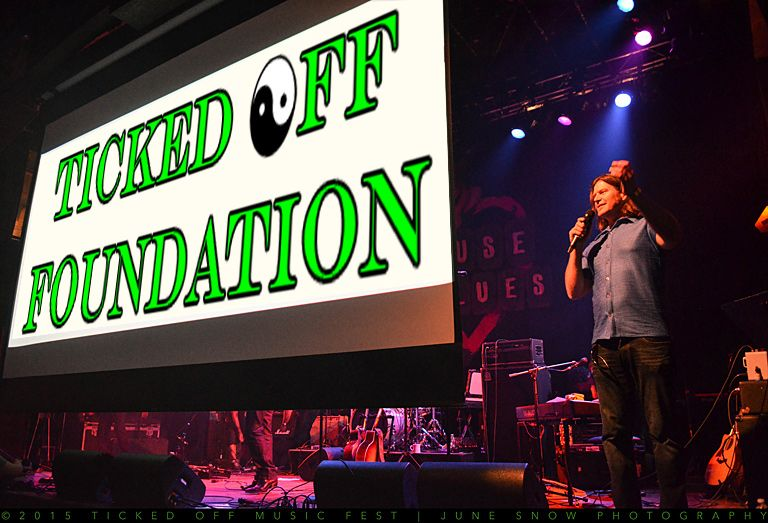Gregg Kirk - founder of the Ticked Off Foundation