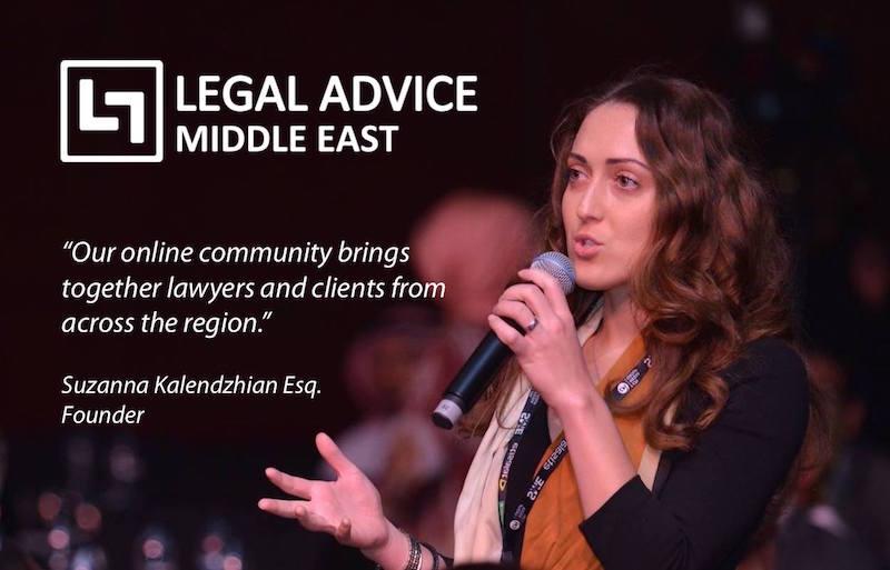 Suzanna Kalendzhian Founder of legaladviceme.com