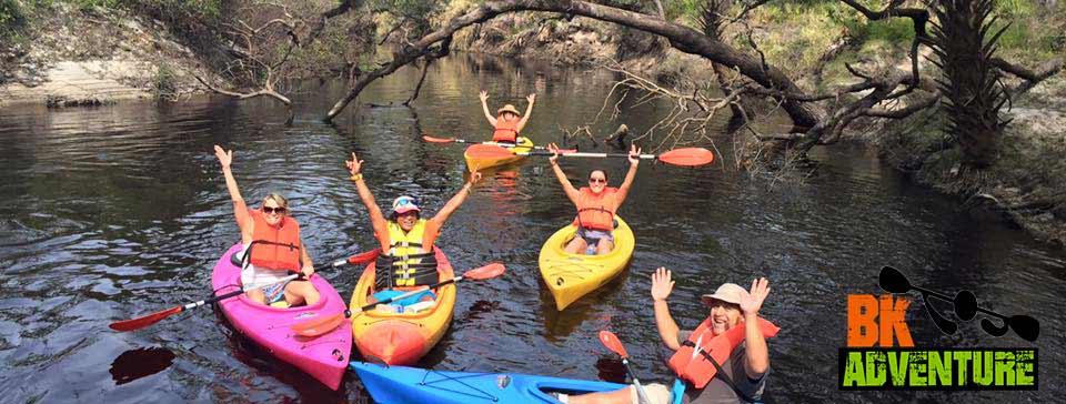 BK Adventure Kayaking Tour - Econlockhatchee River