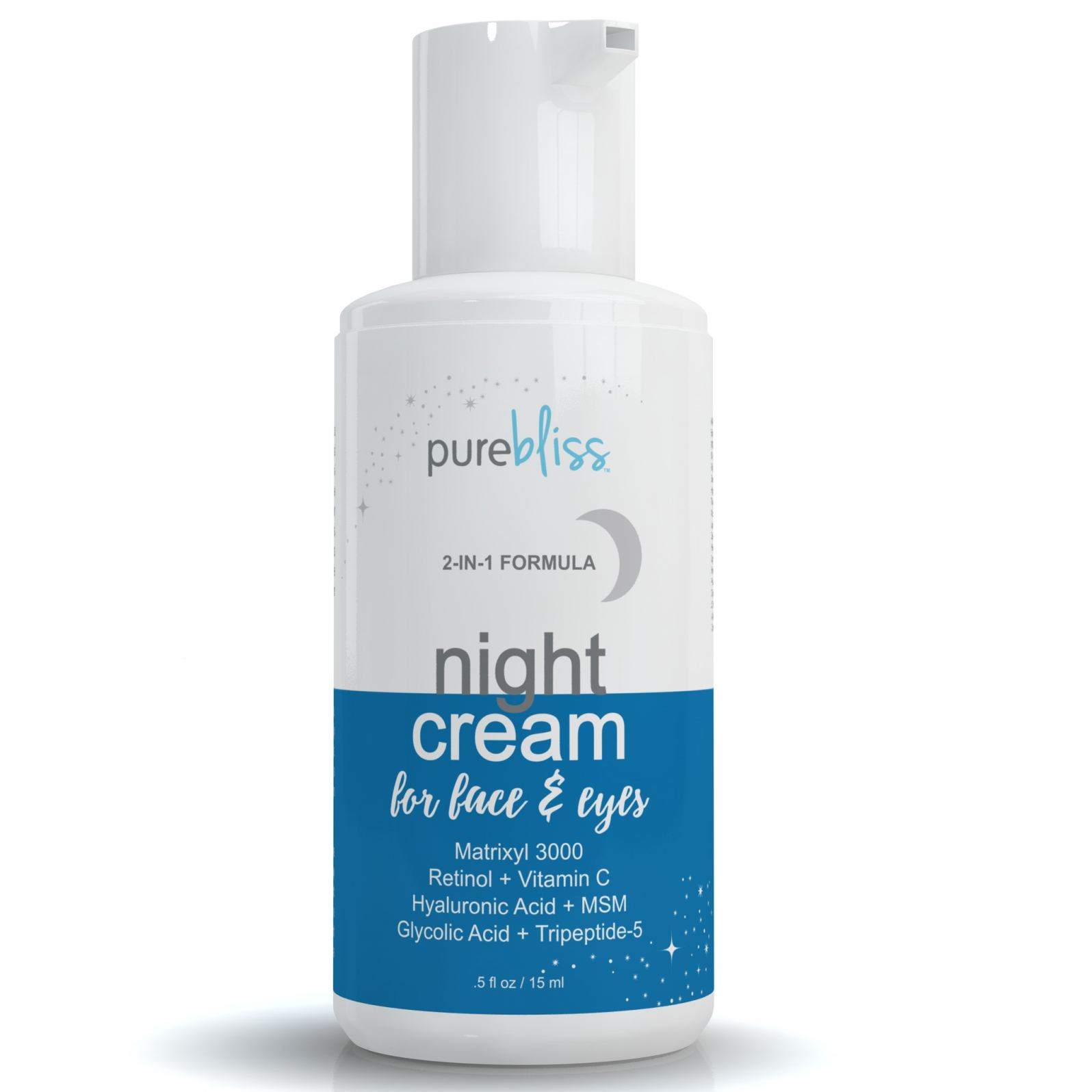 Night Cream Moisturizer for Face and Eyes