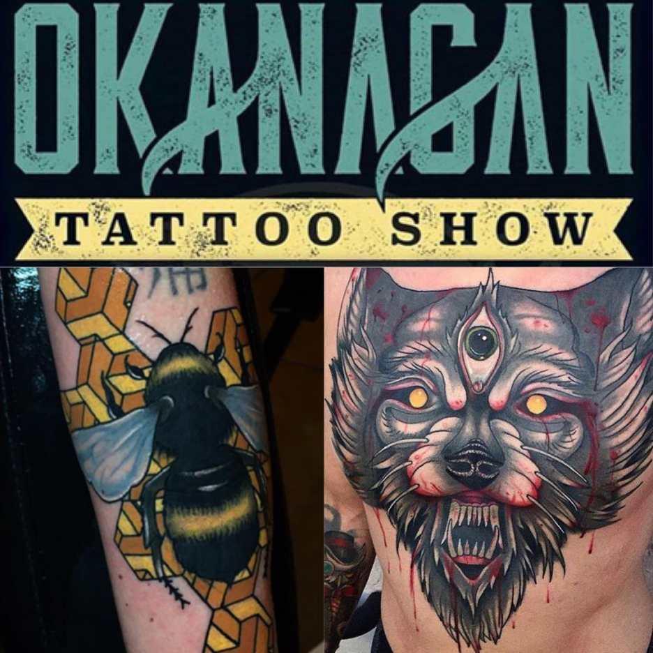 Smooth running tattoo machines exhibited in okanagan for Kelowna tattoo show