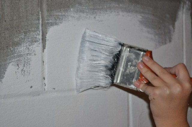 Waterproofing paint a makeshift waterproofing remedy for - Silicone paint for exterior walls ...